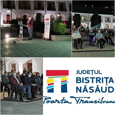 S-a lansat BRANDUL Județului! Ceremonie fastuoasă în Curtea Muzeului Județean și exercițiu de forță pentru PSD-iștii lui Radu Moldovan!