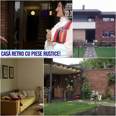 Vezi ce VILĂ frumoasă are Anuța Motofelea! Au dat-o la televizor, la Antena 1!