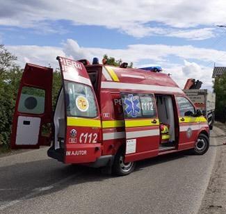 Accident în Dipșa – pieton lovit de mașină