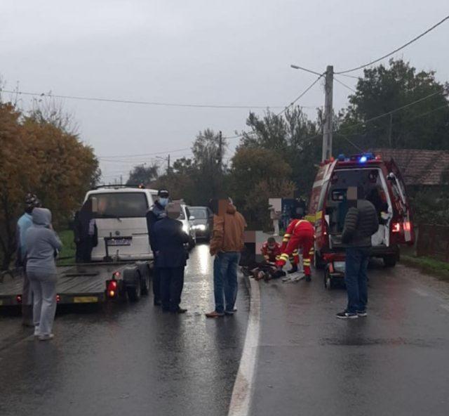 Femeie din Săsarm, în stop cardio-respirator după ce a fost accidentată de o mașină