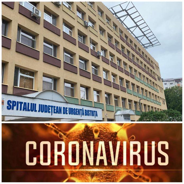 Bilanțul infectărilor cu Coronavirus la spitalul din Bistrița. Din fericire, niciun pacient nu a fost afectat