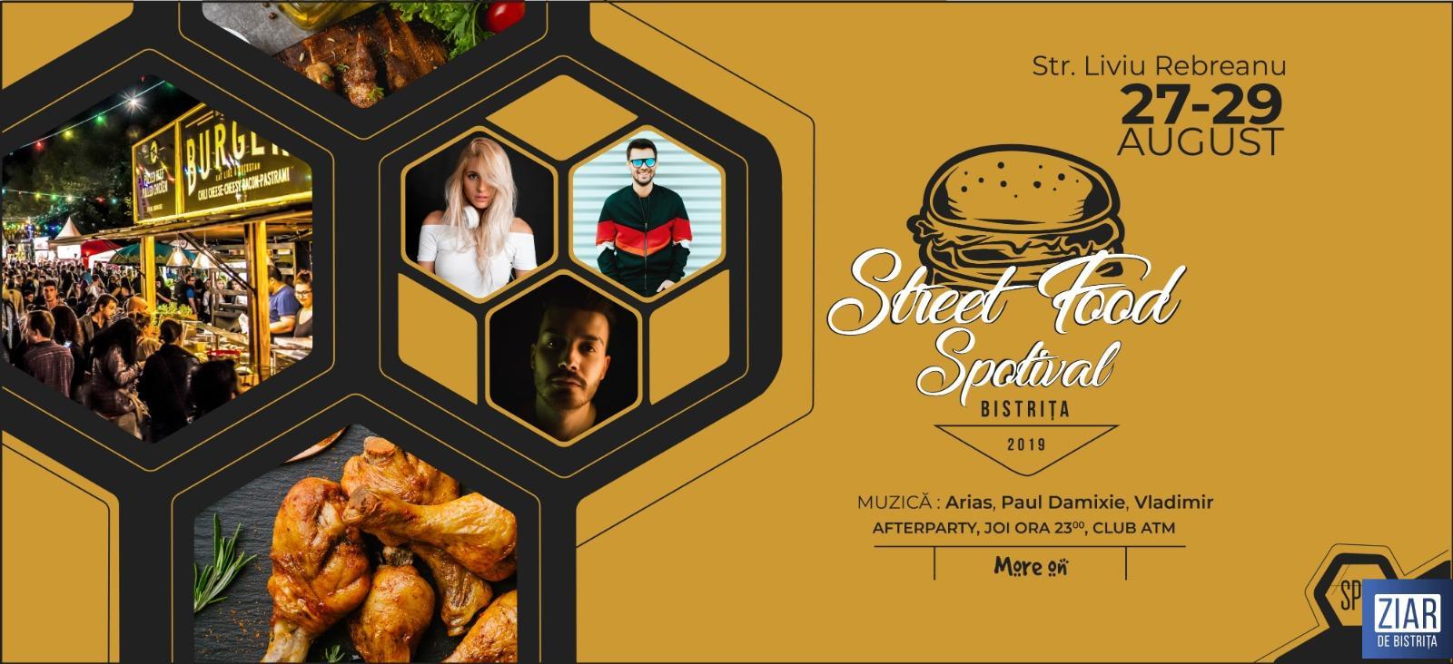 """Tu știi ce-i ăla un Street-Food Festival? Pe Pietonal va avea loc un astfel de eveniment cu """"de toate"""": burgeri, mâncare mexicană, chinezească, arăbească plus multe specialități ce le vezi numai pe Paprika TV!"""
