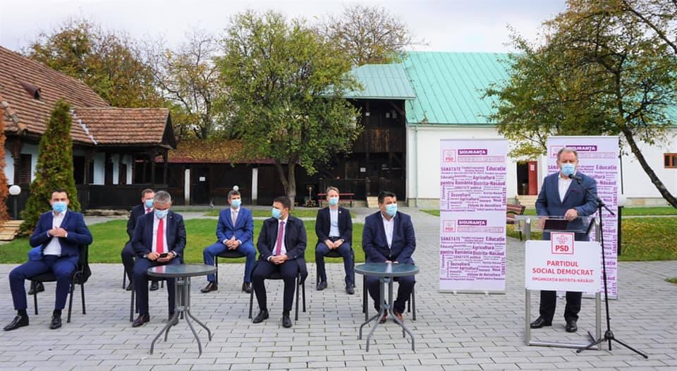 PSD și-a lansat în mod spartan candidații la alegerile parlamentare