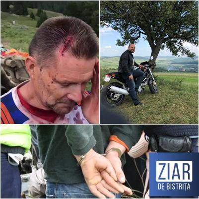 Ciobanii care-au BĂTUT un motociclist belgian au fost băgați pe AREST! Ionuț Simionca transmite felicitări polițiștilor și magistraților!