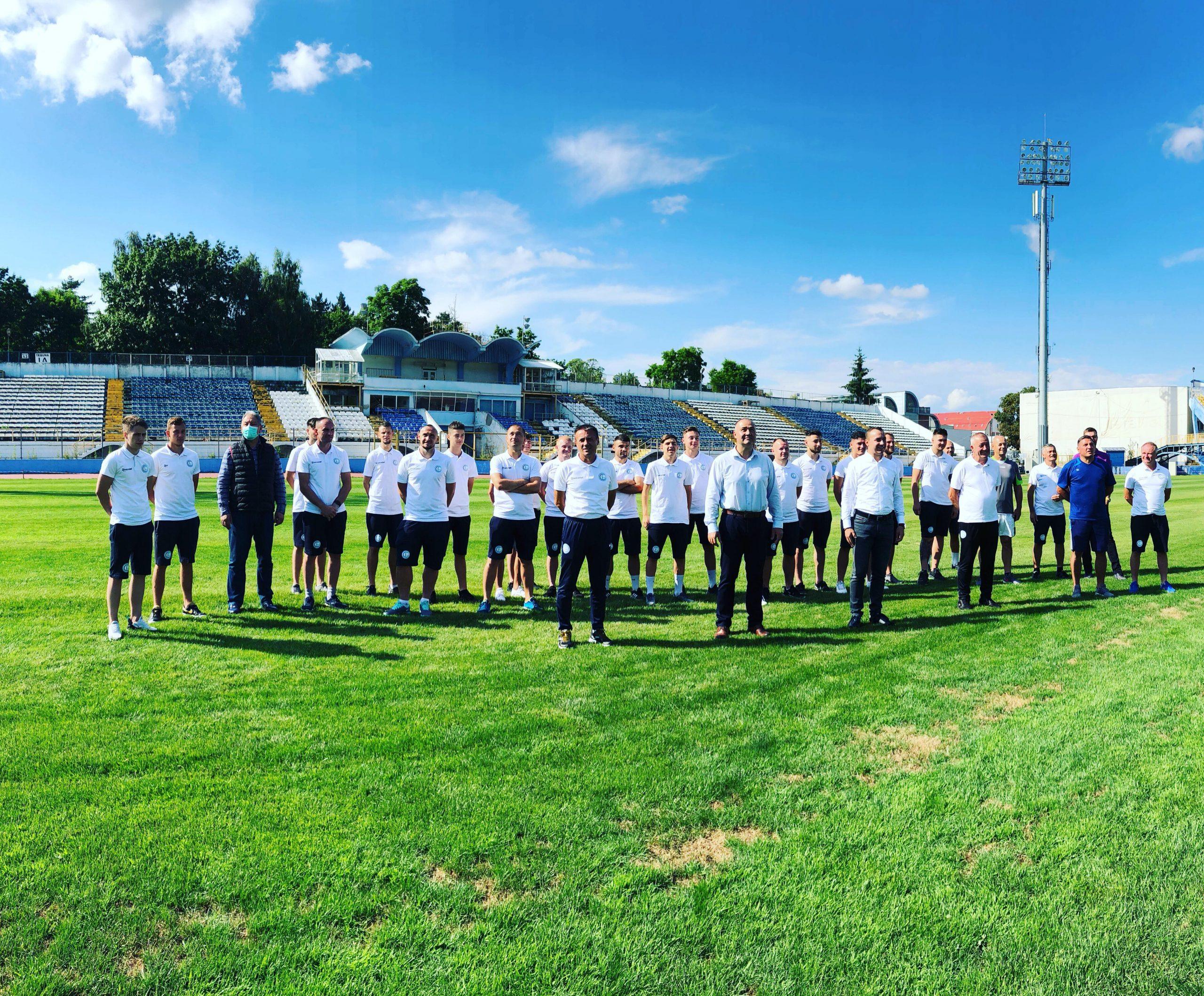 Fotbal: Meciul de astăzi al Gloriei se amână după ce 11 membrii ai echipei au COVID-19