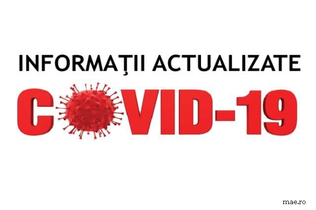 84 de persoane infectate cu COVID-19 și un deces, în ultimele 24 de ore