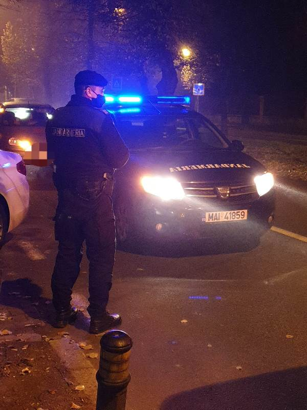 Jandarmii bistrițeni, la datorie în perioada sărbătorilor de iarnă