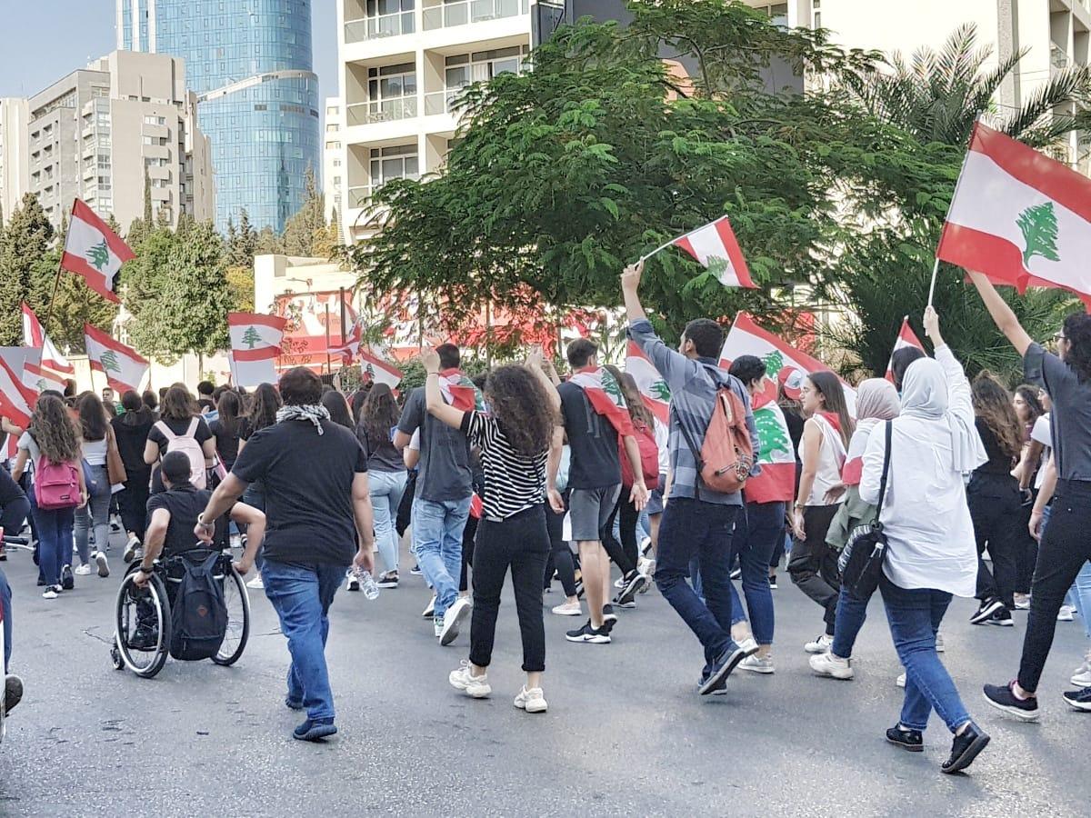 Cum a fost ca turist în mijlocul protestelor din Liban