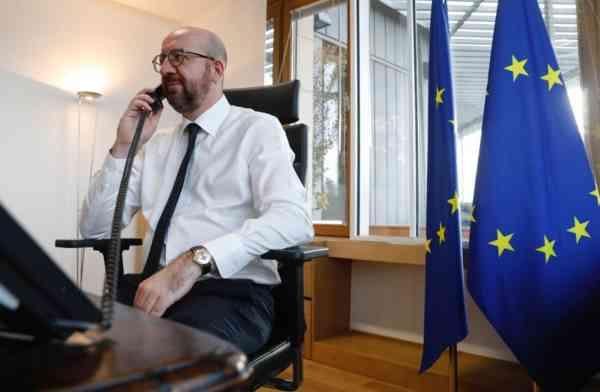 Președintele Consiliului European i-a cerut lui Putin eliberarea lui Aleksei Navalnîi