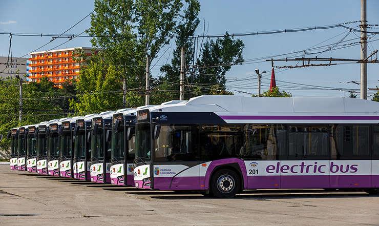 Primăria Bistrița ne întreabă ce tapițerie vrem la autobuzele electrice de pe Linia Verde