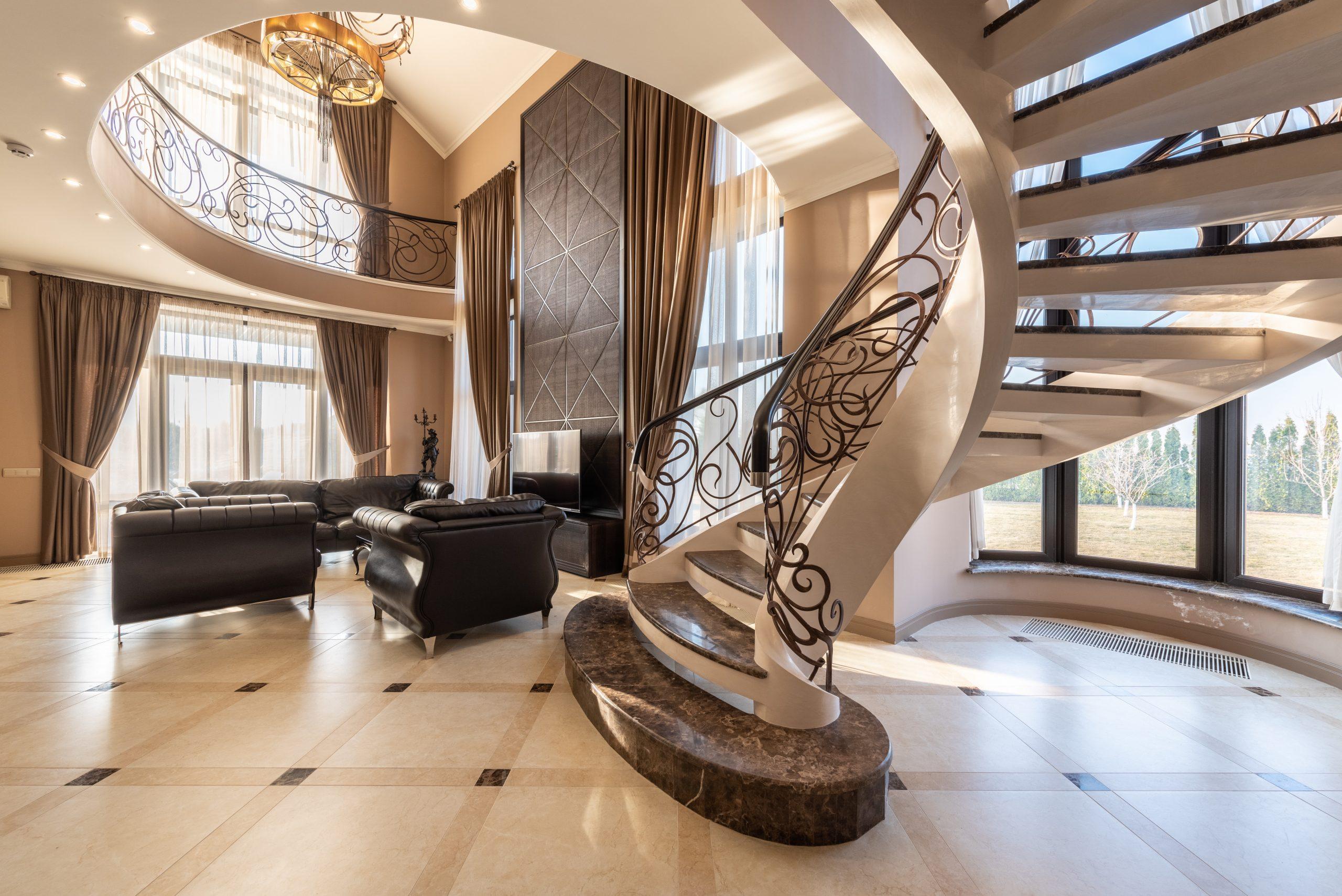 Balustradele din fier forjat – elemente de bun gust in designul casei tale